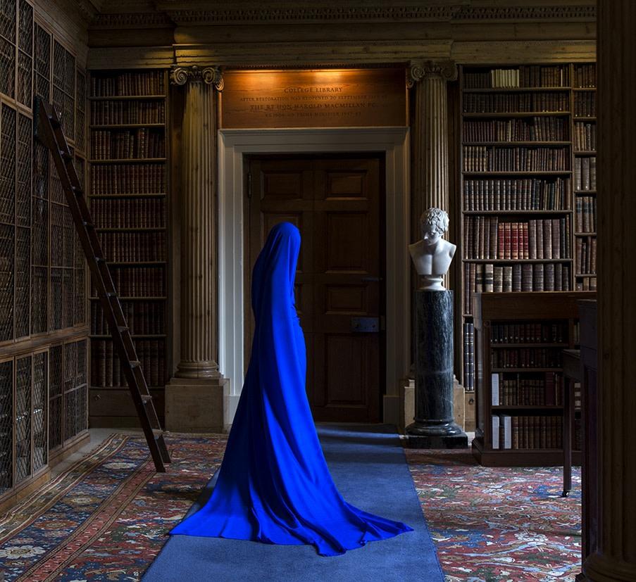 Güler Ates, Eton College Library and She III, 2017