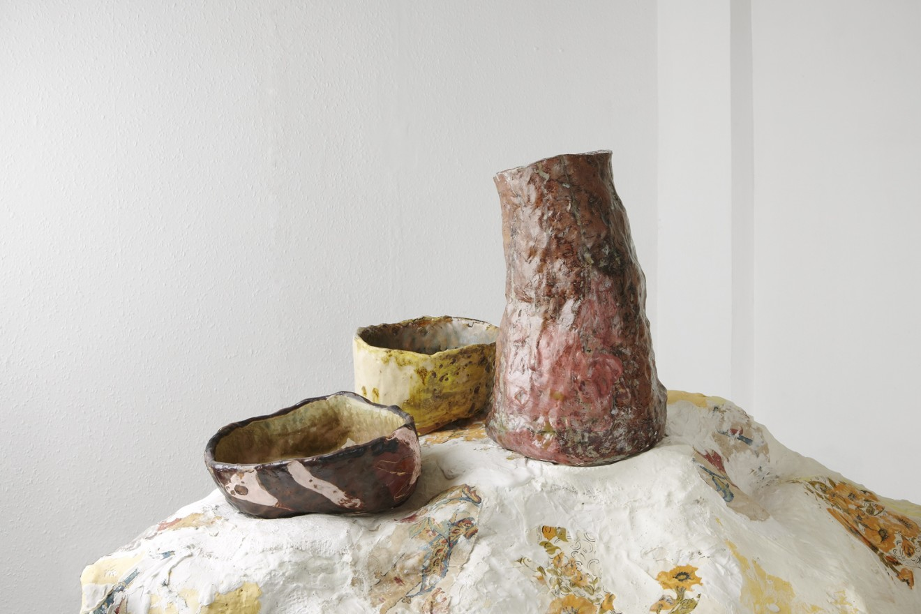 Jessica Jackson Hutchins, Loveseat and Bowls, 2008