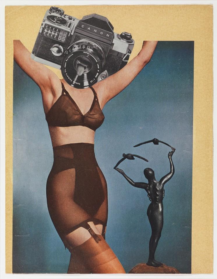 ERRÓ, Canon underwear, 1958