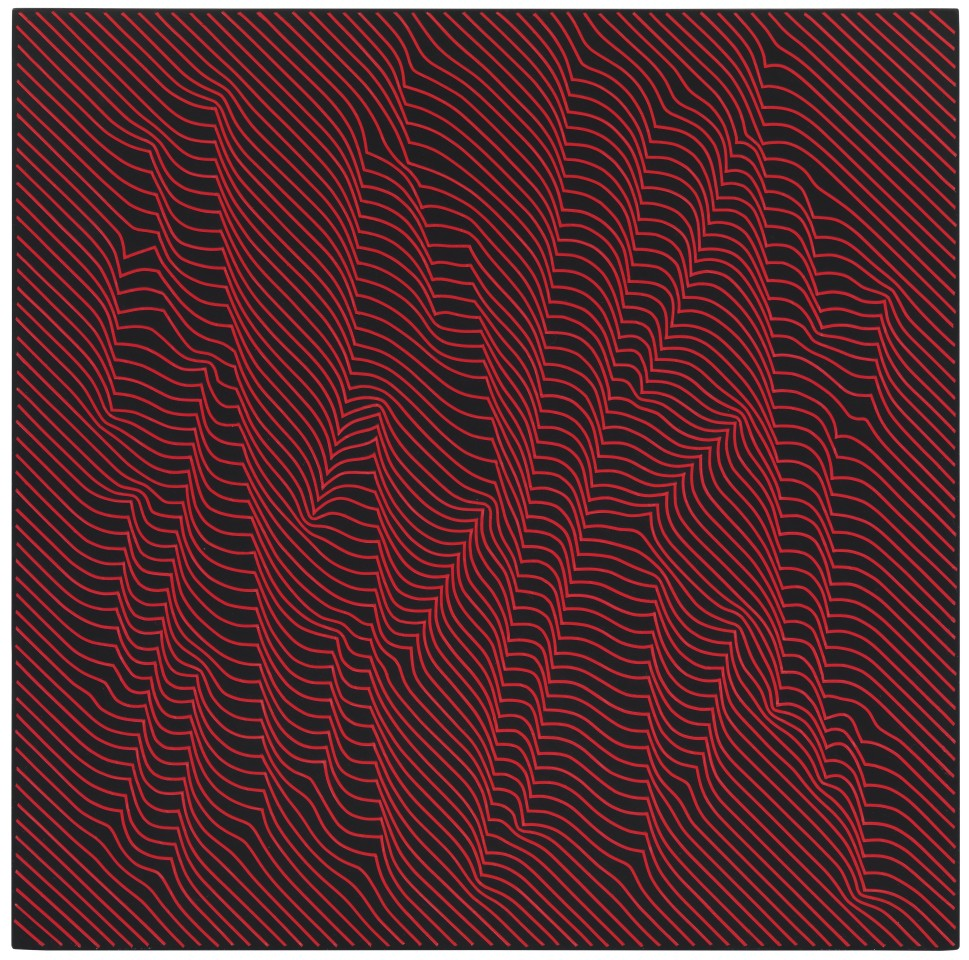 JULIAN STAŃCZAK, Woods, Warm Red Lights, 2009