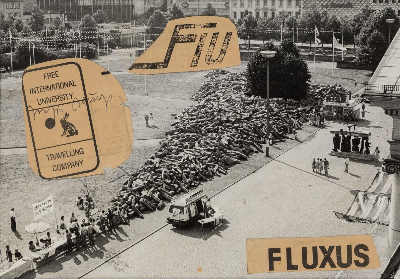 JOSEPH BEUYS, Fluxus (7,000 Oaks), c. 1982