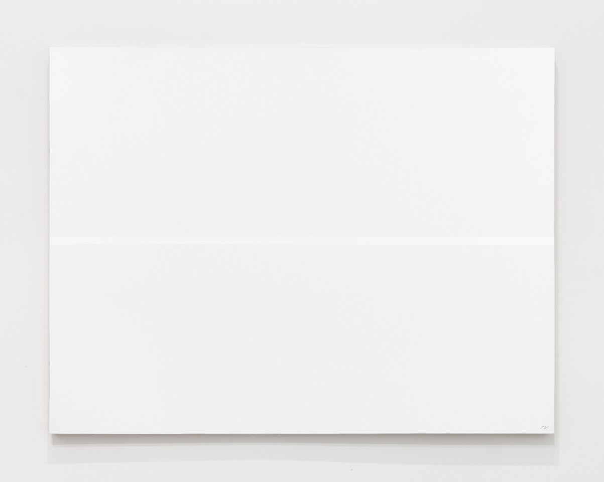 JOSIP VANIŠTA, White line on a white surface, 1968‒1997