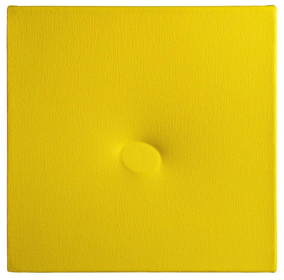 TURI SIMETI, Un ovale giallo, 2016