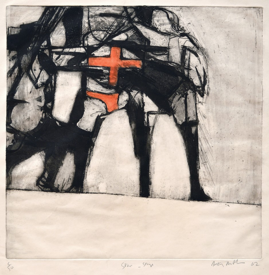 Star Strip, 1962  Etching  55 x 53 cm 21 5/8 x 20 7/8 inches