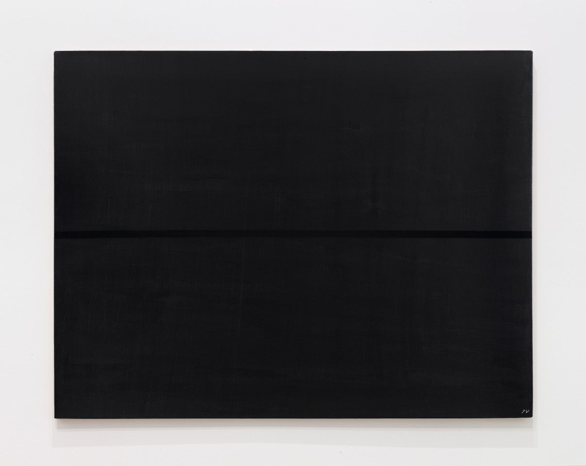 JOSIP VANIŠTA, Black line on a black surface, 1968‒1997