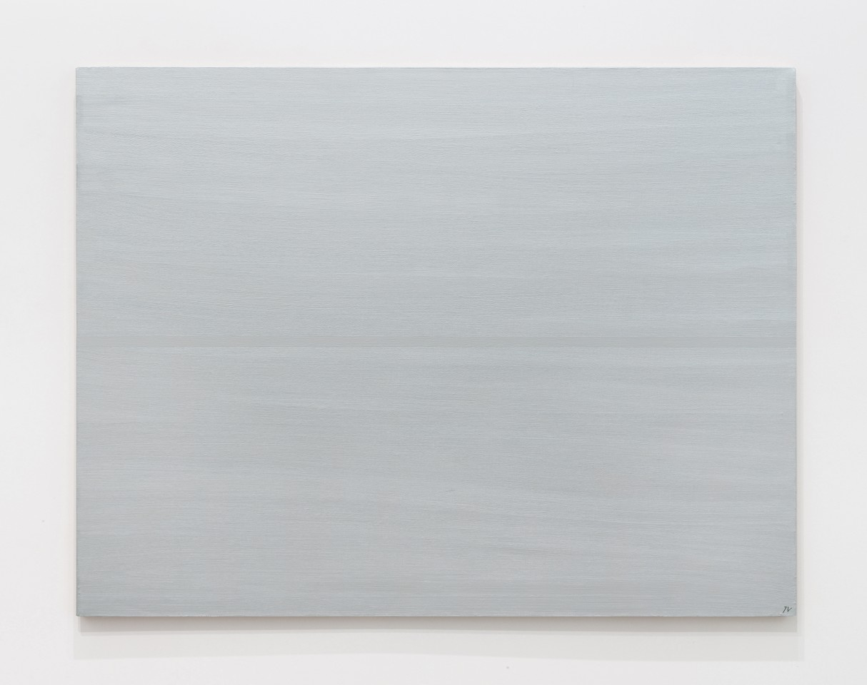 JOSIP VANIŠTA, Silver line on a silver surface, 1968‒1997