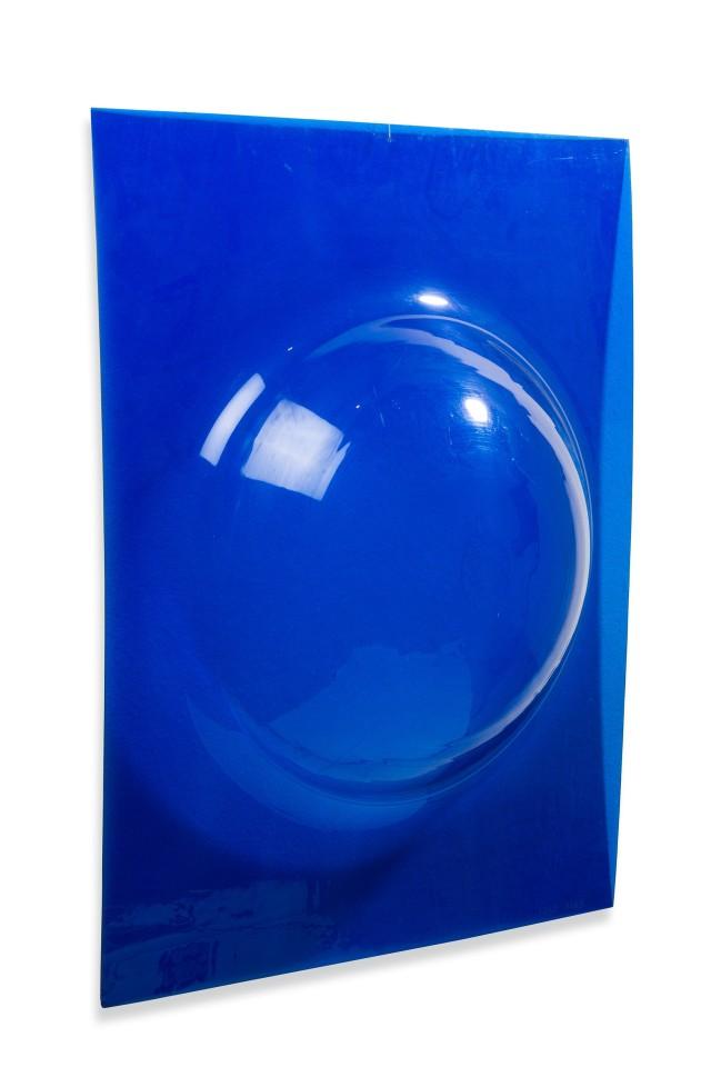 STANO FILKO, Woman's breast (blue), 1966