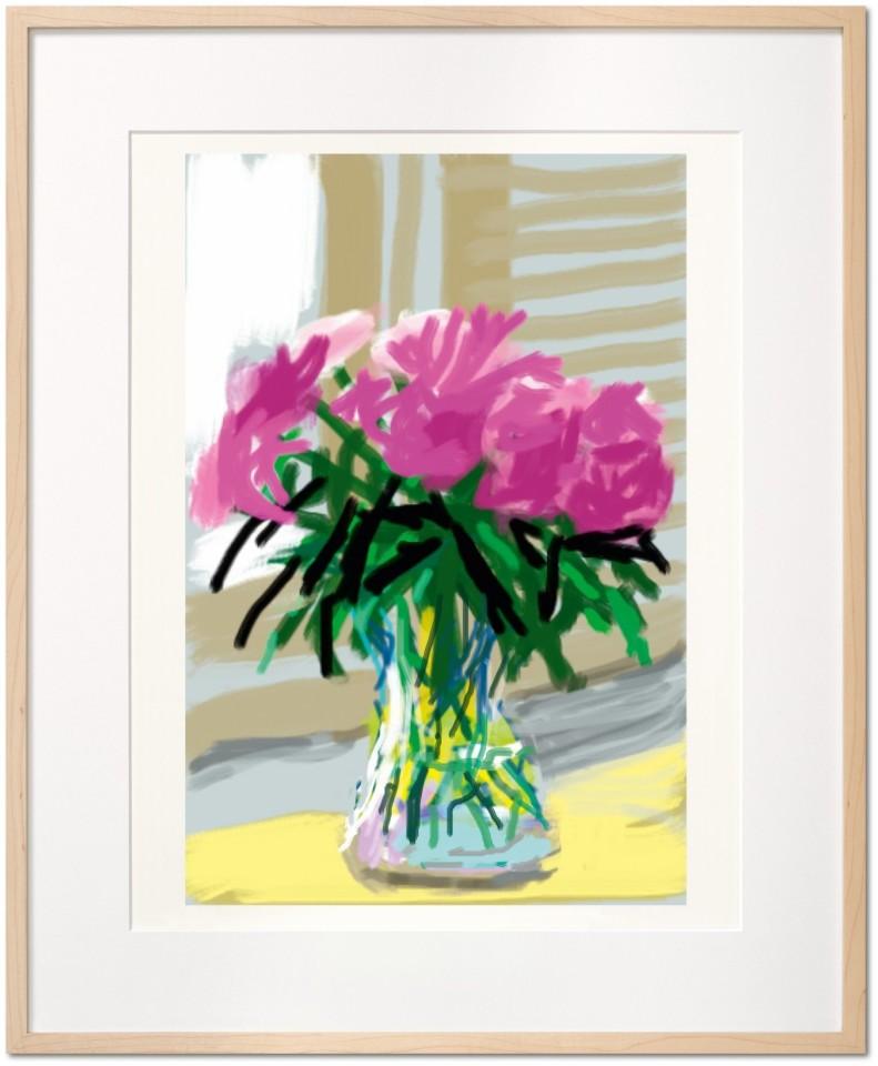 David Hockney, David Hockney. My Window. Art Edition (No. 1–250) 'No. 535', 28th June 2009, 2019