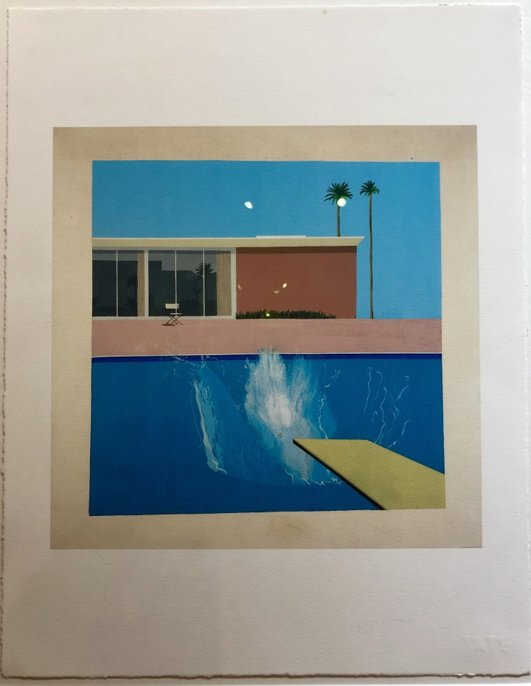 David Hockney, 'A Bigger Splash' Tate Portfolio Edition, 2017