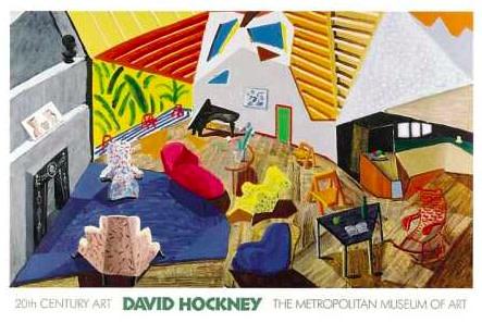 David Hockney, 'Large Interior, Los Angeles', 1990