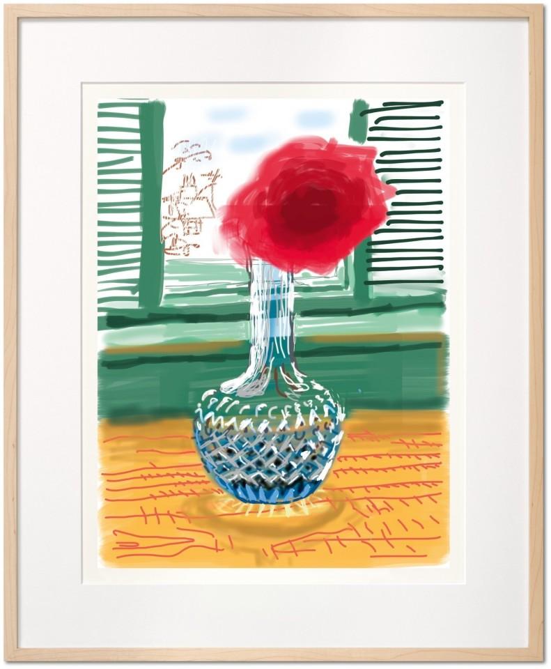 David Hockney, David Hockney. My Window. Art Edition (No. 251–500) 'No. 281', 23rd July 2010, 2019