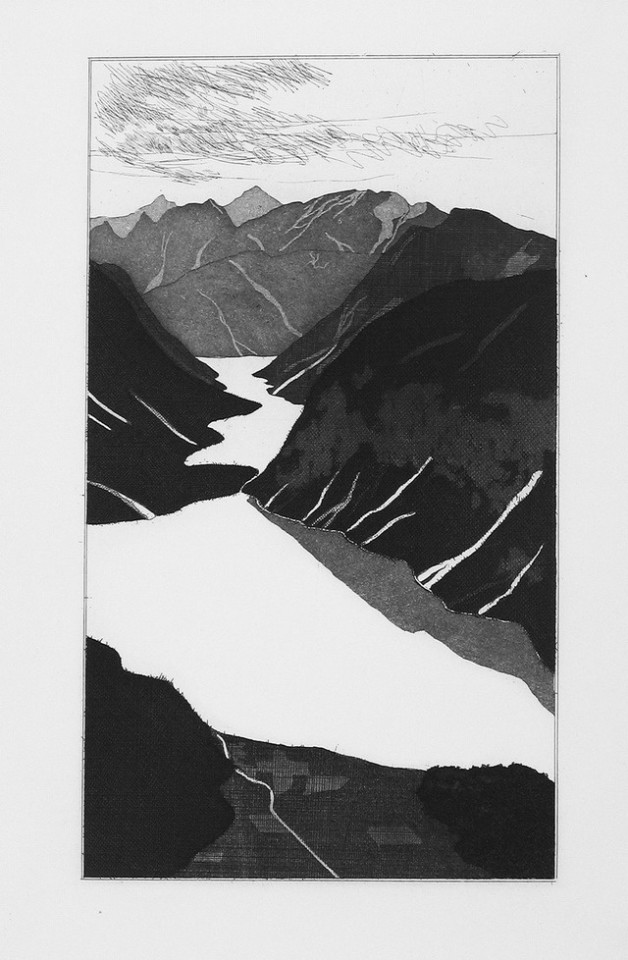 David Hockney, The Lake (Fundevogel), 1969