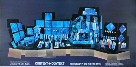 David Hockney, David Hockney Original Poster 'Content + Context', 1985