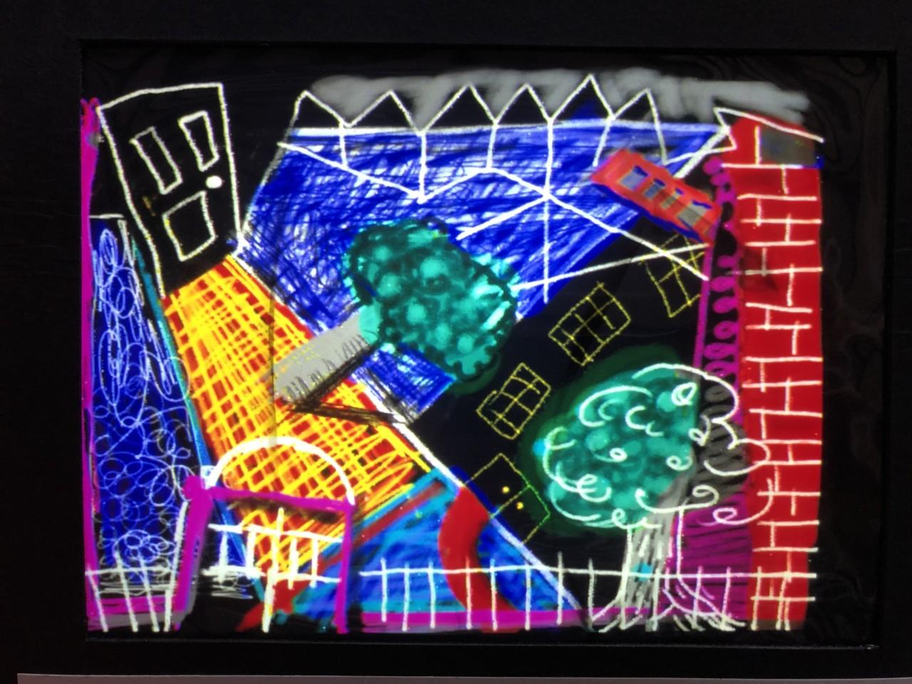 David Hockney, 'Pembroke Studio' Computer Drawing, 1986