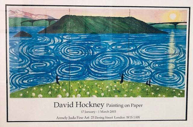 David Hockney, David Hockney Original Poster 'The Maelstrom Bodo', 2002