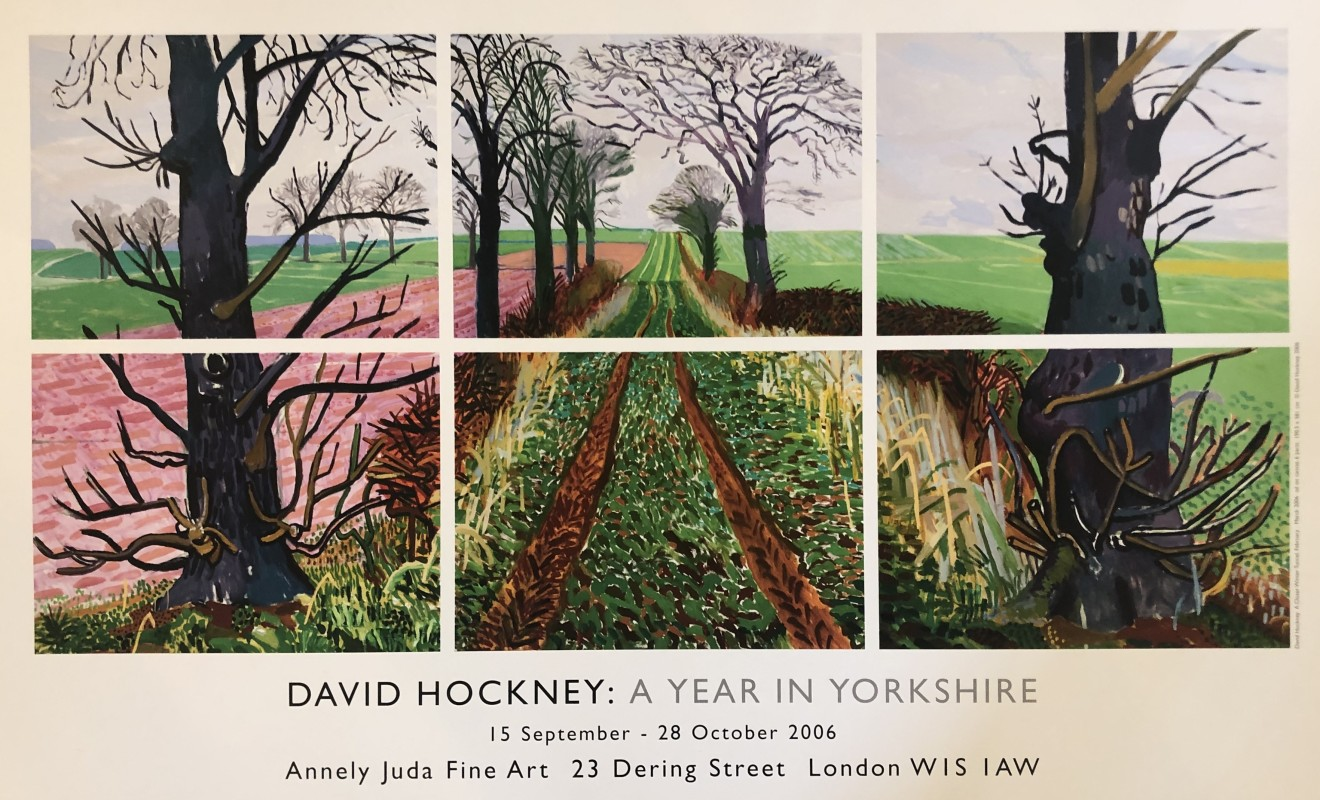 David Hockney, 'A Closer Winter Tunnel, February-March', 2006