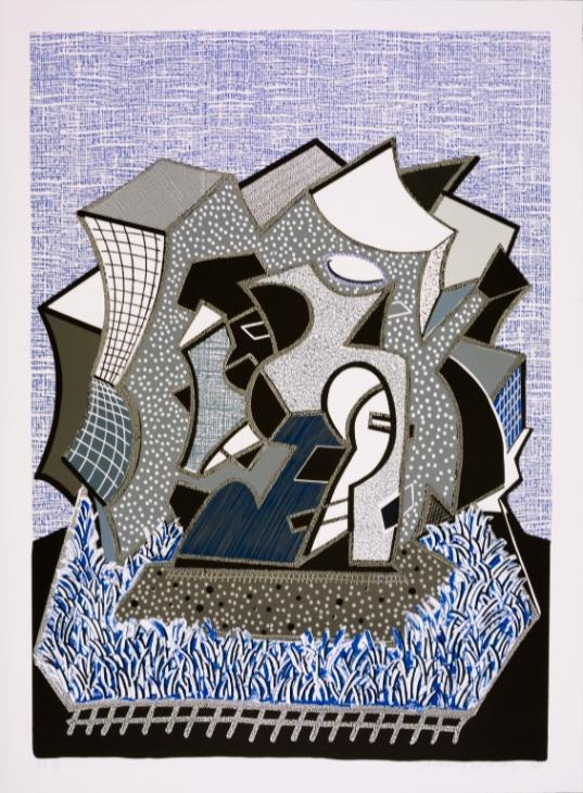 David Hockney, Eine (Part I), 1991