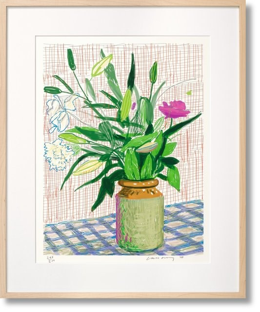 David Hockney, iPad Taschen Art Edition No. 751–1,000 'Untitled, 516', 2010