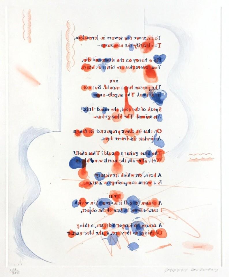 David Hockney, Made in April, 1976-77