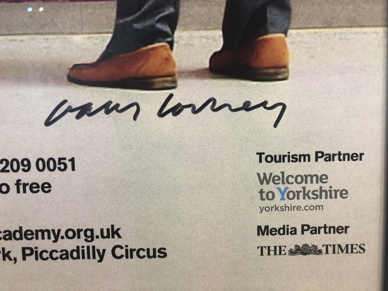 David Hockney, Hand Signed Original Poster, A Bigger Picture, 2012