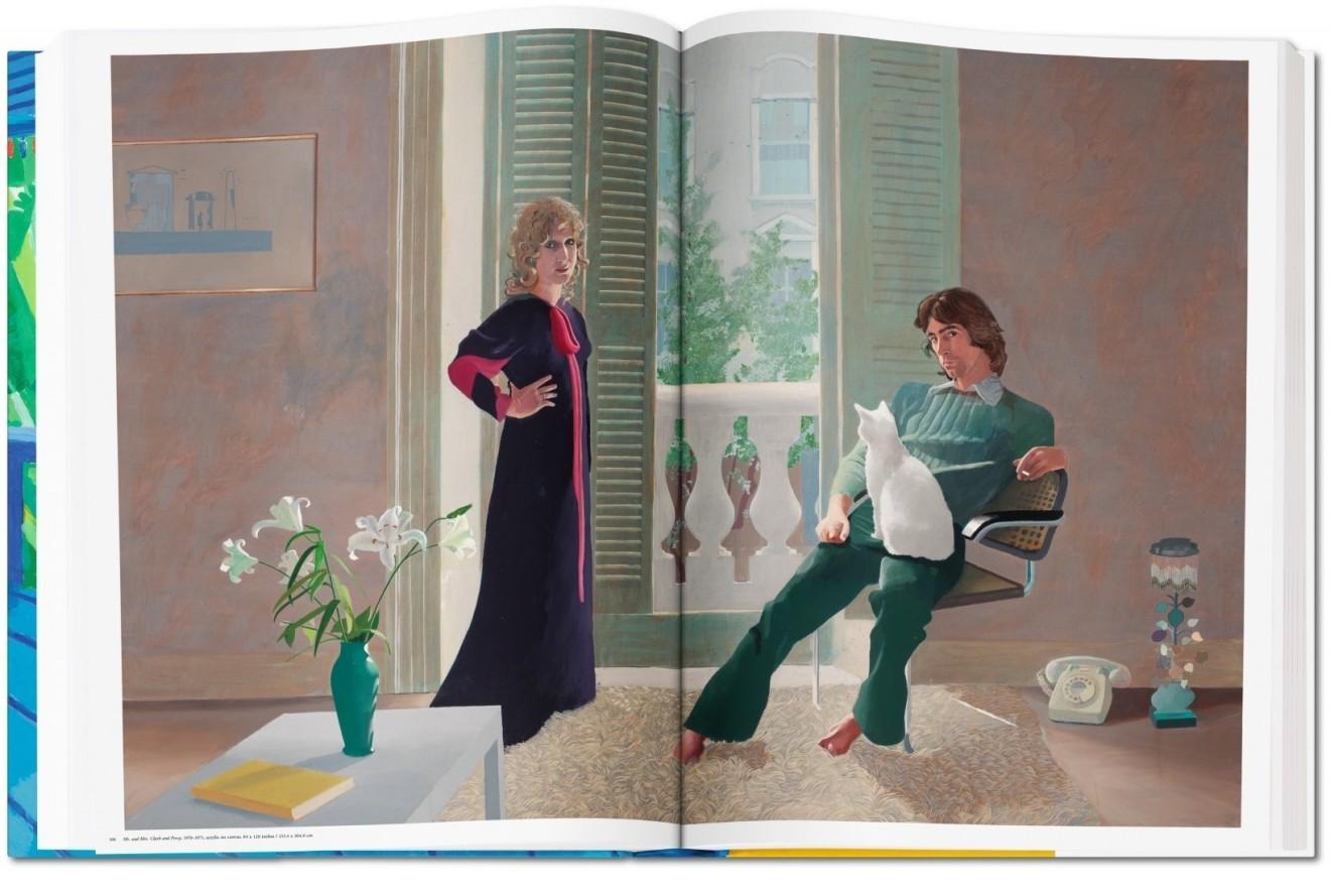 David Hockney, A Bigger Book, David Hockney Sumo by Taschen For Sale, 2017