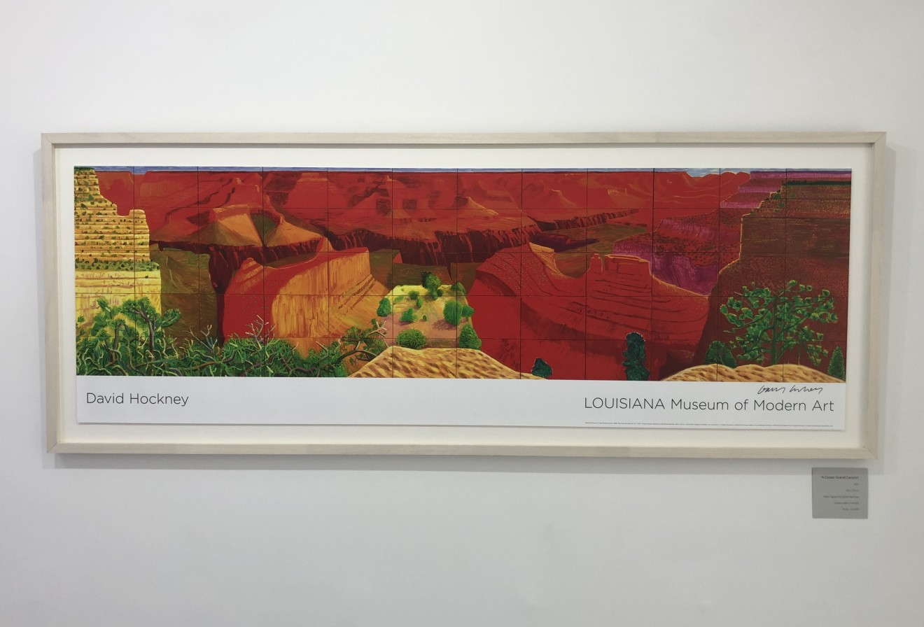 David Hockney, Hand Signed A Closer Grand Canyon, 2011