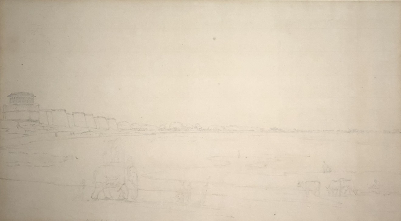 3. Thomas Daniell, R.A. (1749 – 1840) and William Daniell, R.A. (1769 – 1837), View of India, c. 1790