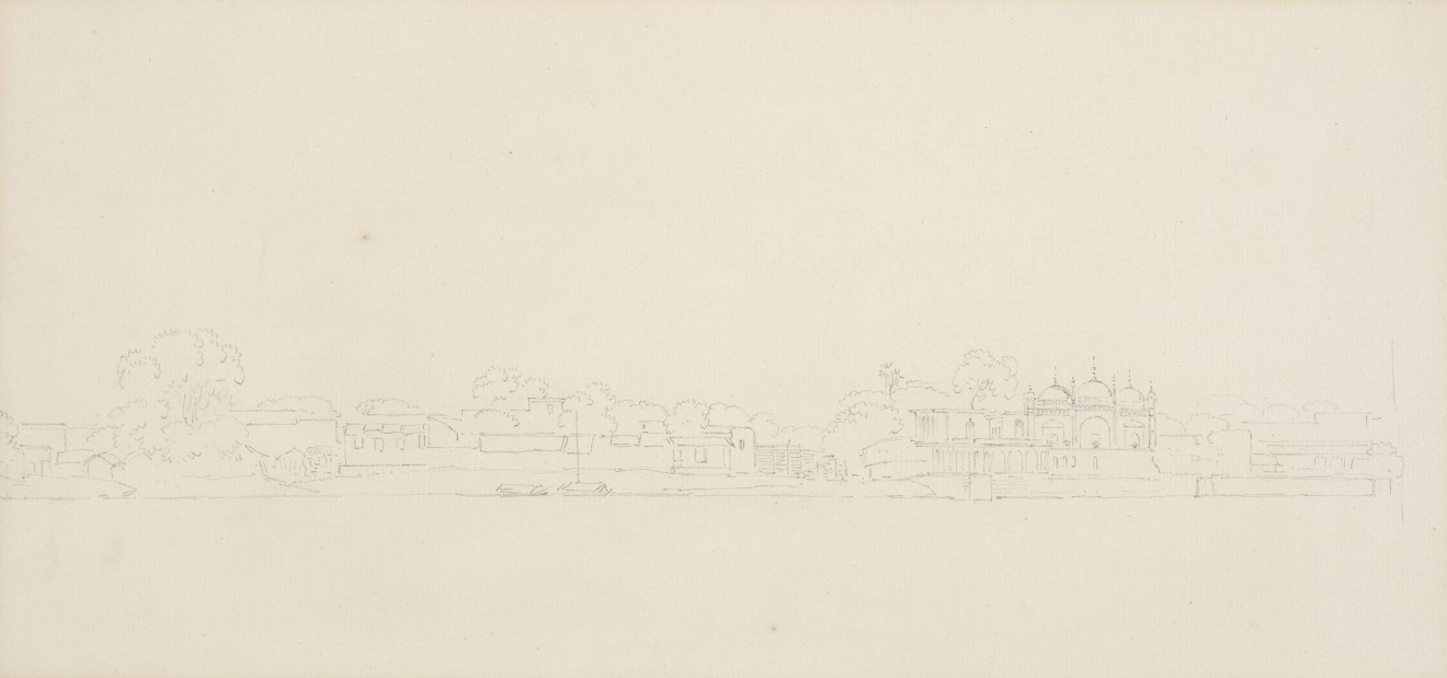 6. Thomas Daniell, R.A. (1749 – 1840) and William Daniell, R.A. (1769 – 1837), View of India, c. 1790