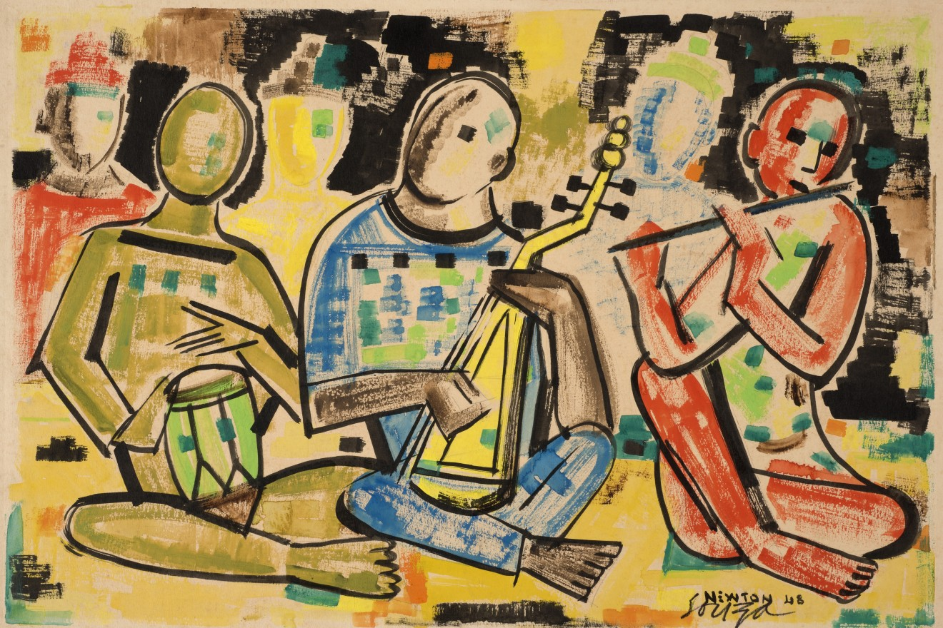 Francis Newton Souza , Musicians , 1948