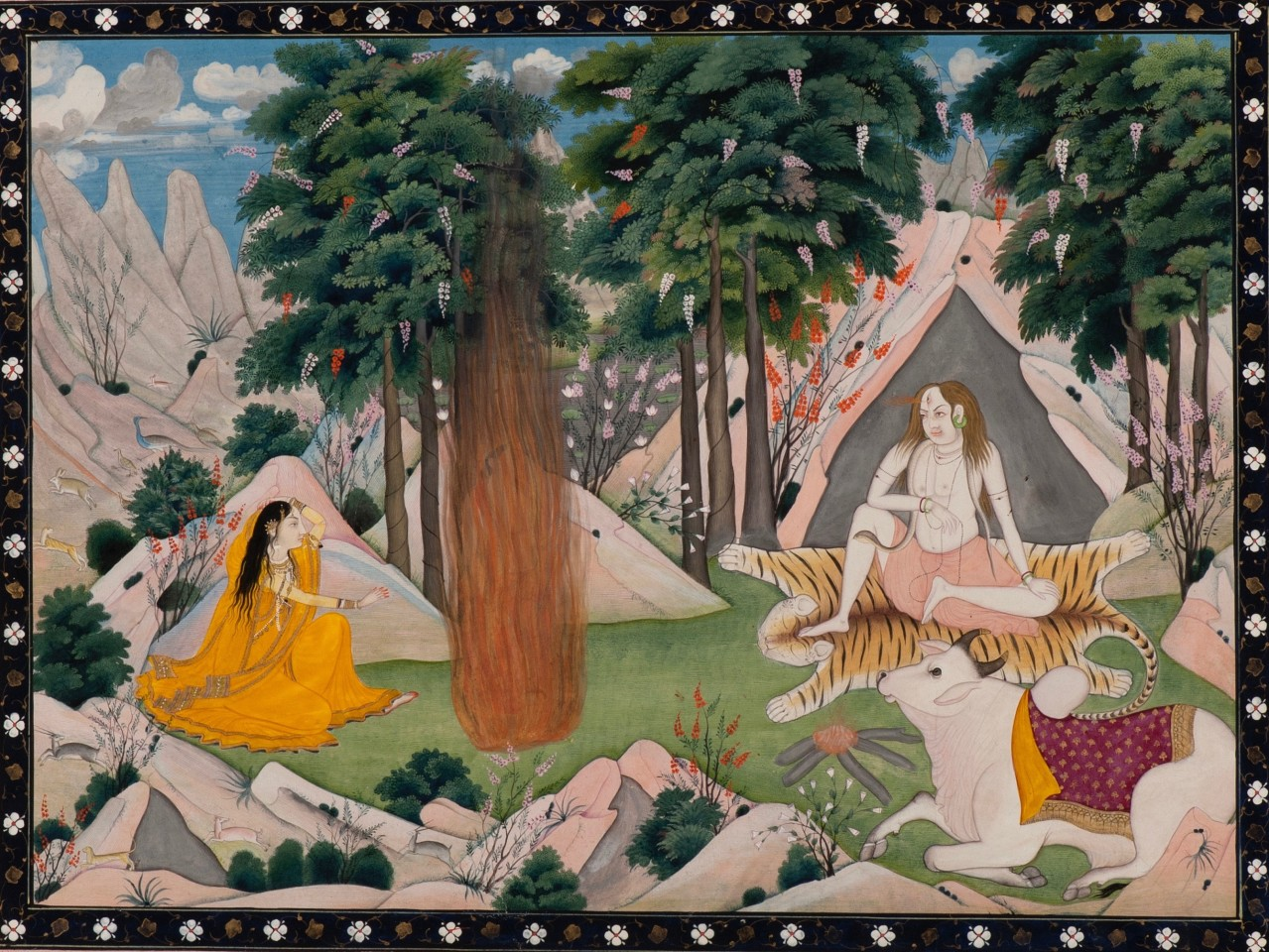 Shiva Kills Kama for Disturbing his Meditation