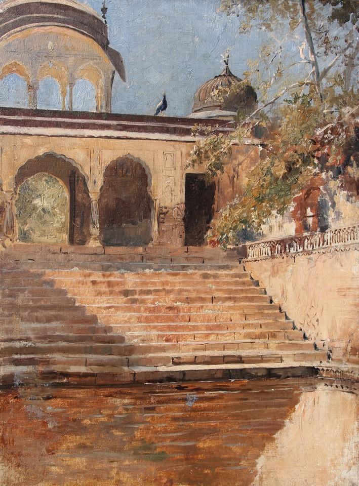 37. Edwin Lord Weeks (1849 - 1903), Steps in Sunlight