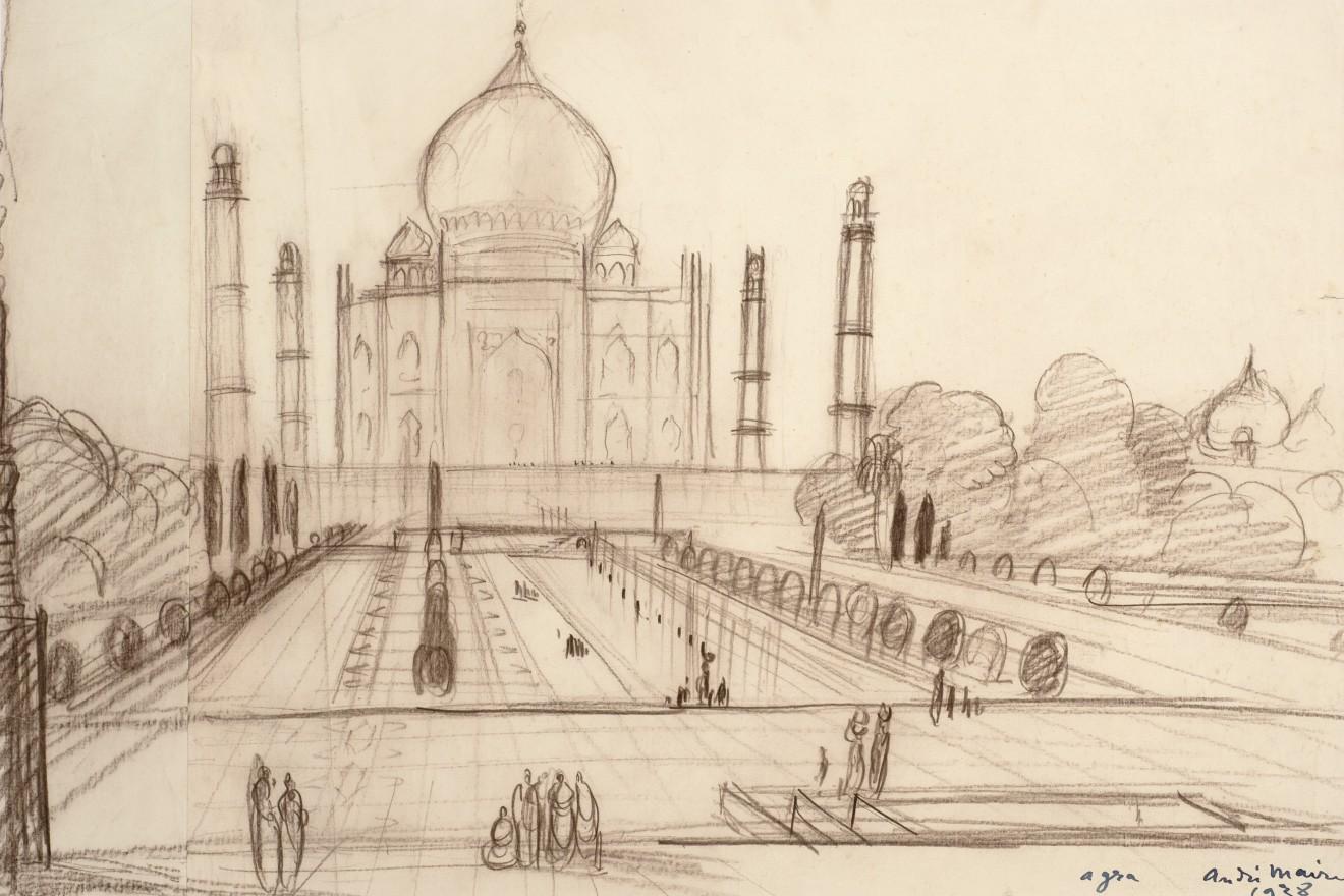 52. André Maire (1898-1984), The Taj Mahal, Agra, 1938