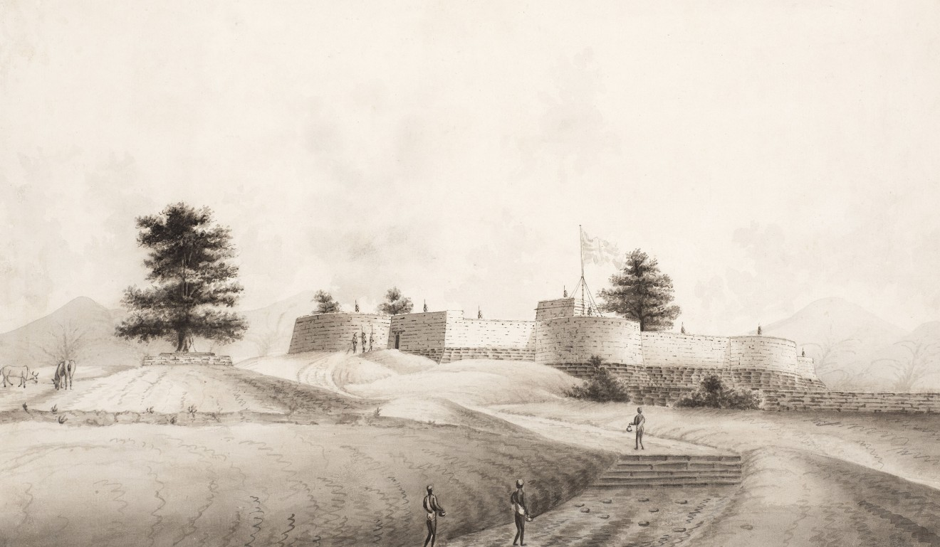 18. Company School, A British Fort , Early 19th Century
