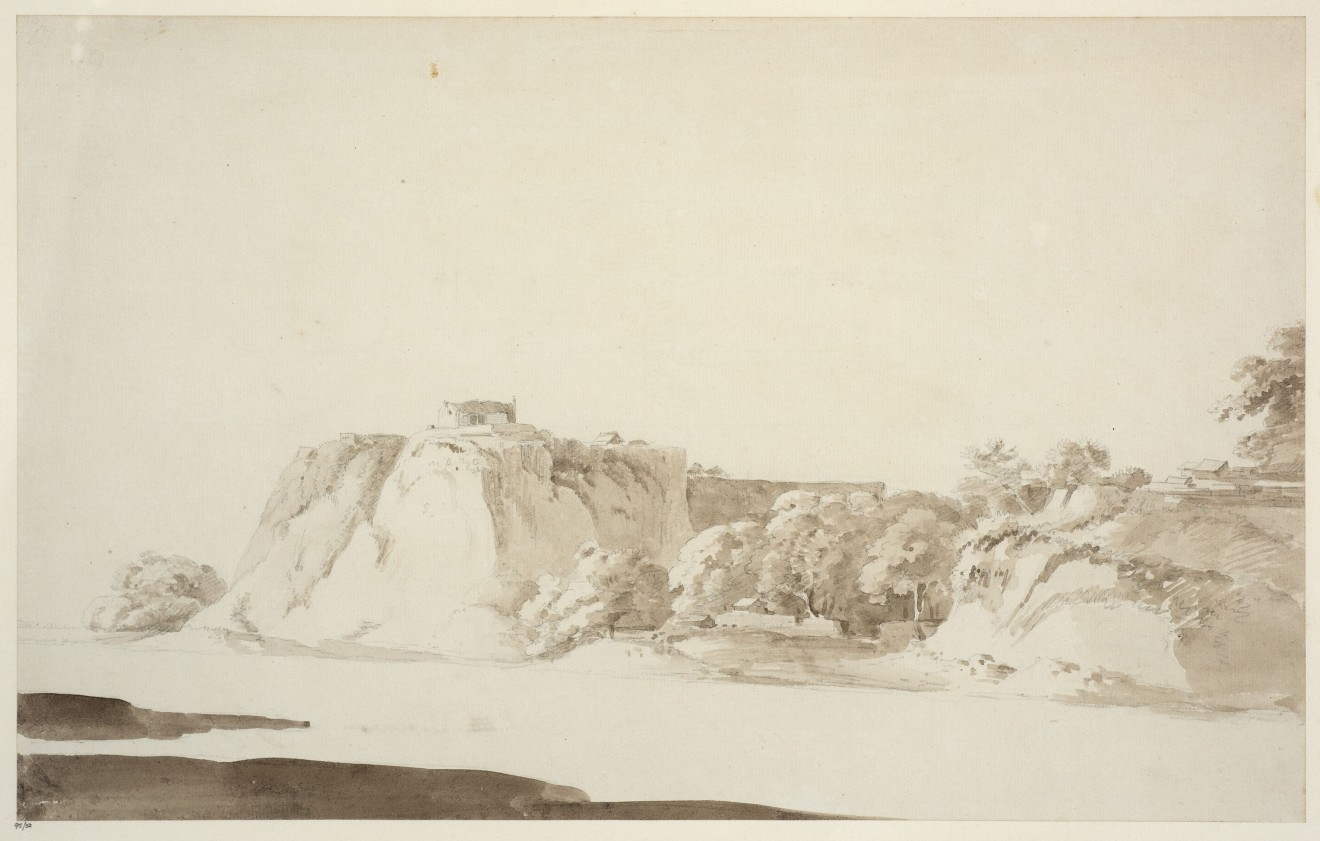 10. Thomas Daniell, R.A. (1749 – 1840) and William Daniell, R.A. (1769 – 1837), Dalmow on the Ganges, 1789