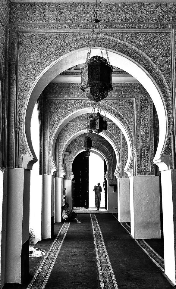 William Dalrymple , The Siddi Boumediene Mosque