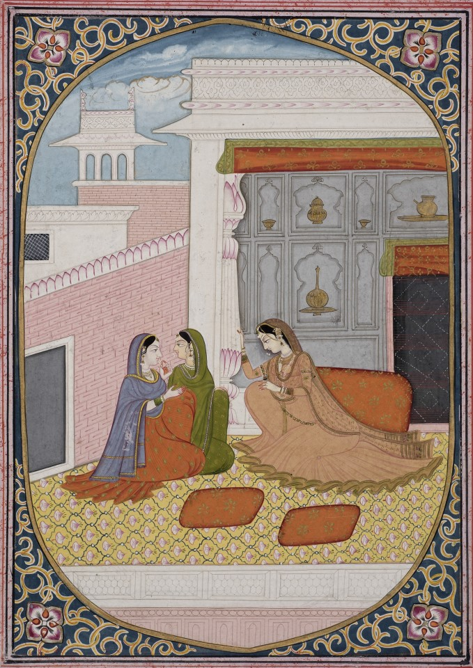 The Adolescent Heroine, attributed to Purkhu