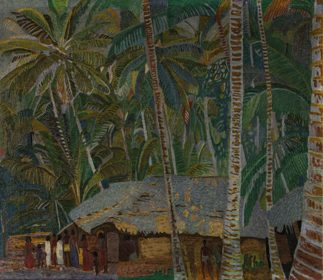 45. Jaroslav Hněvkovský , Untitled (Jungle Scene, Kerala), 1911