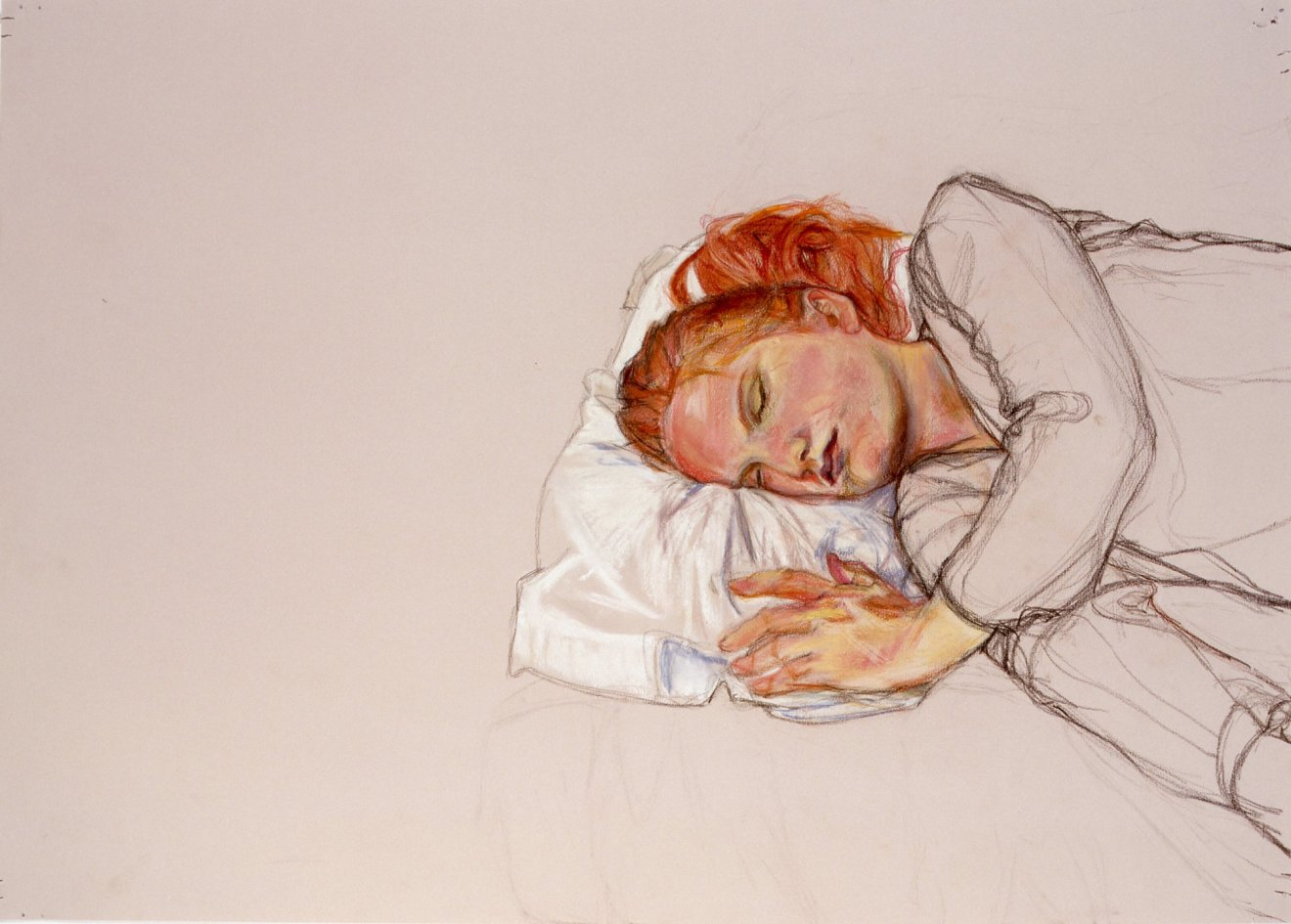 Ursula Sleeping, 2001