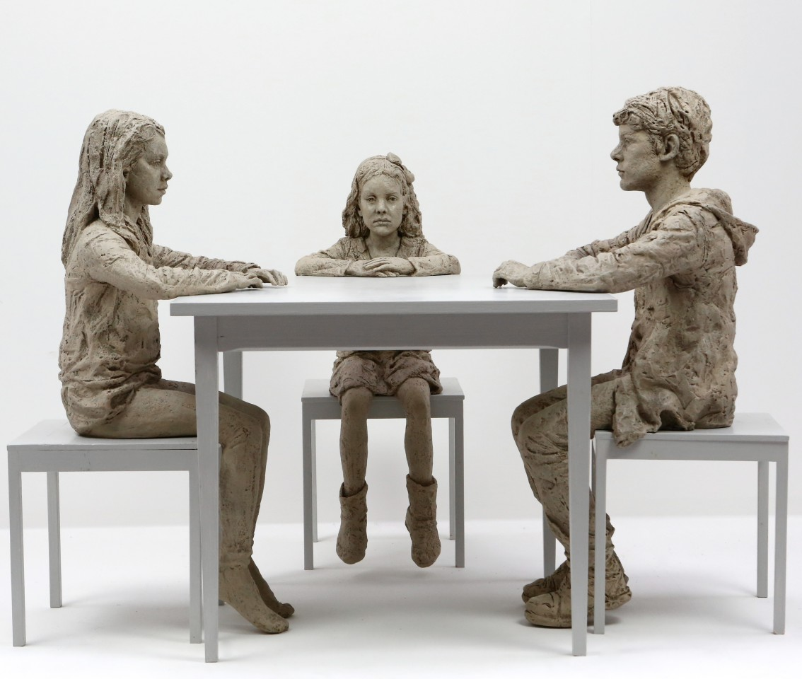 The Dinner Table (monotone), 2015