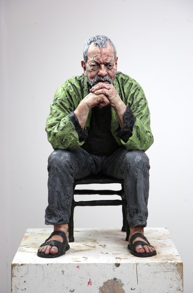Seated Man, 2017
