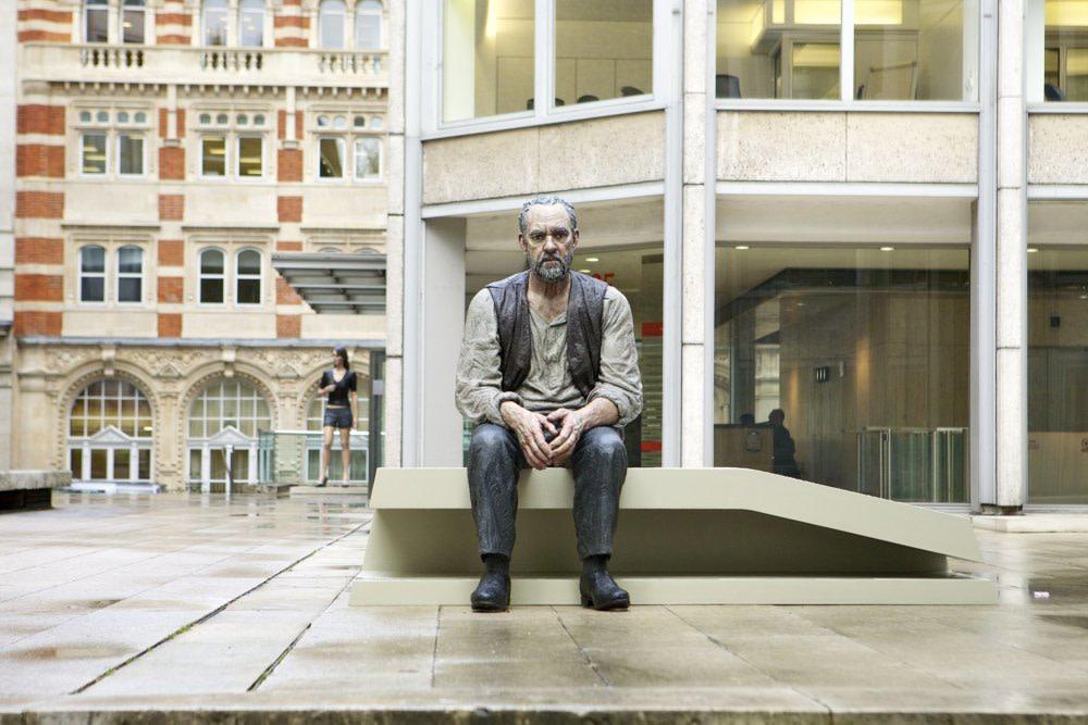 Seated Man, 2011