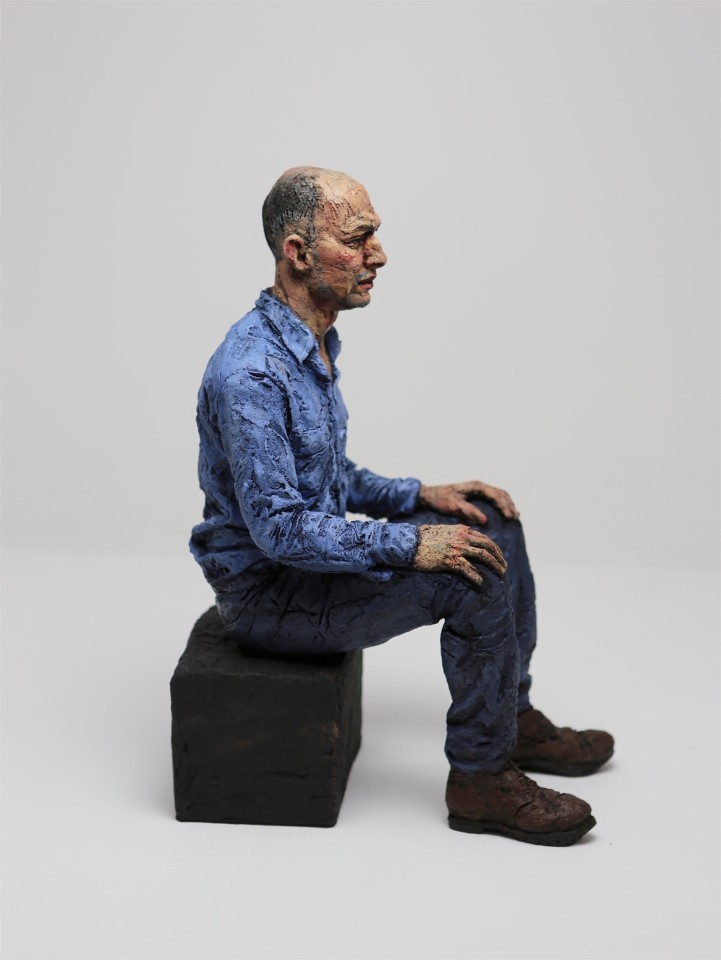 Seated Man (BS), 2019