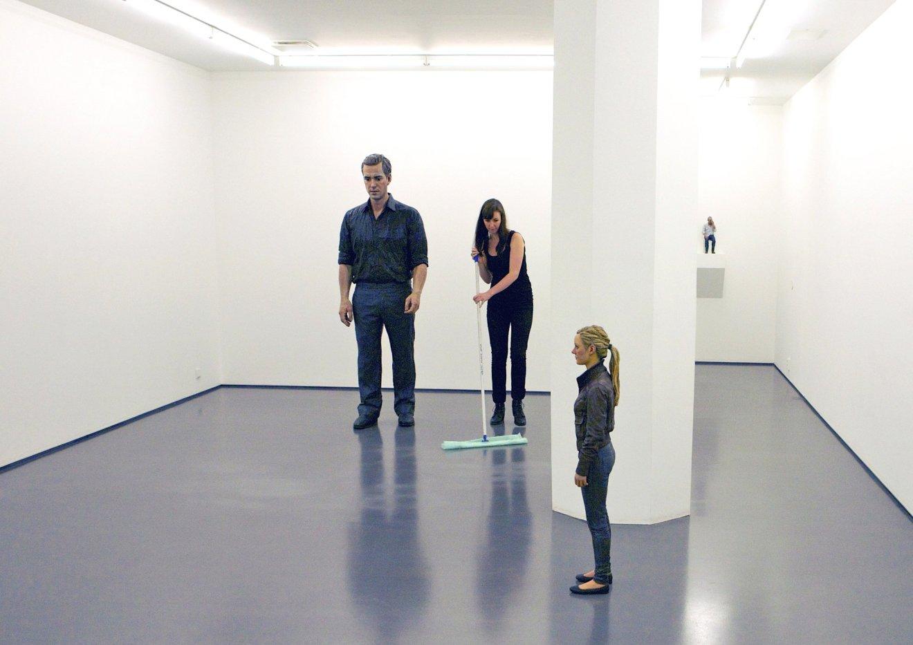 Standing Man, 2008