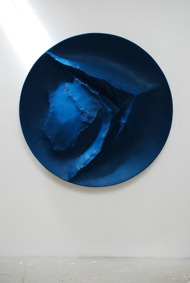 From A Mountain Stream (Ocean Blue), 2019