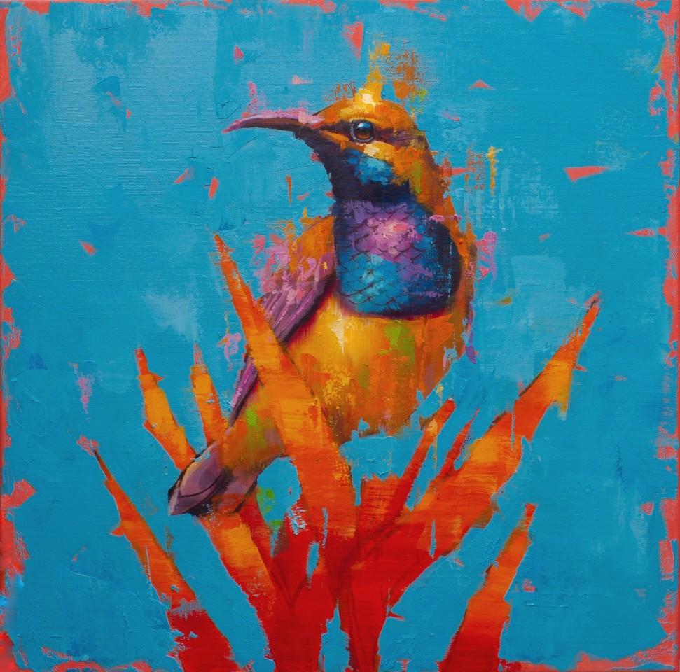 Jamel Akib, Olive Backed Sunbird No.1, 2021