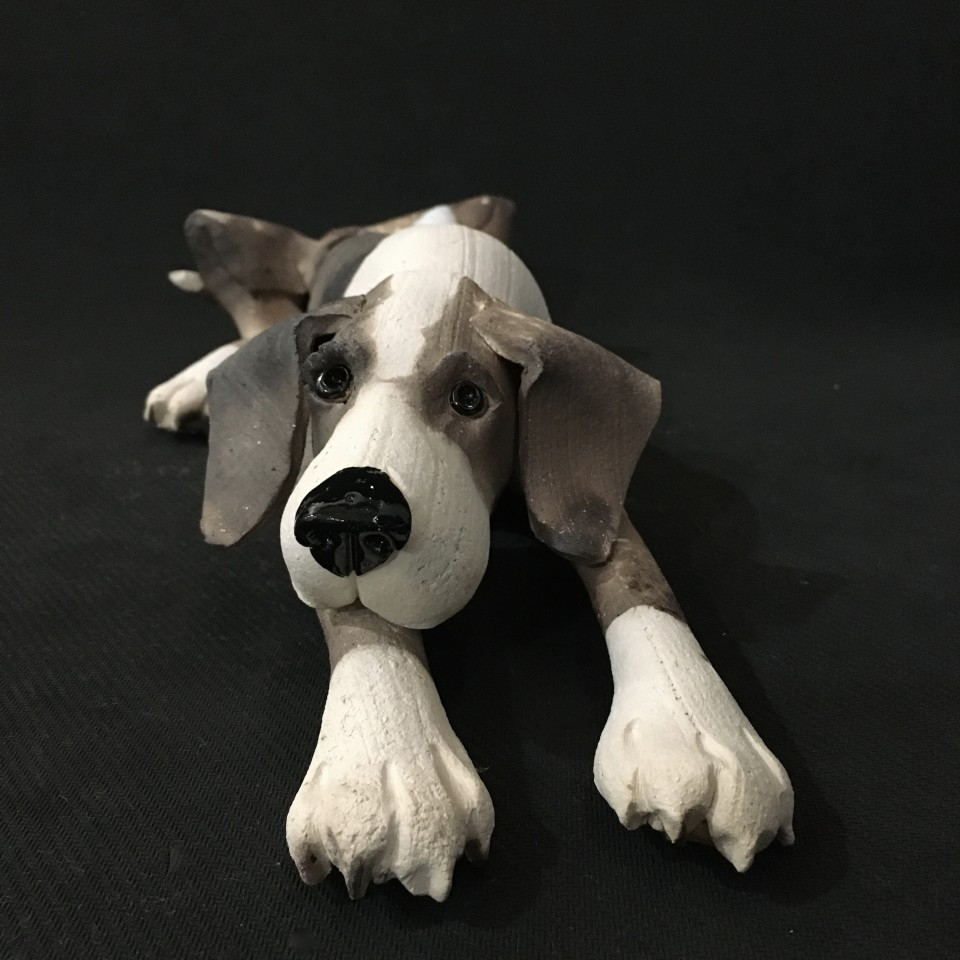 Virginia Dowe Edwards, Small dog lying