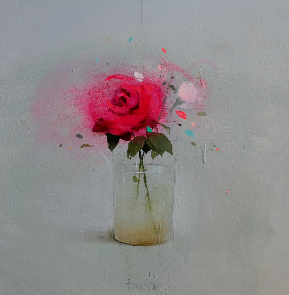 Fran Mora, Single Rose, 2018