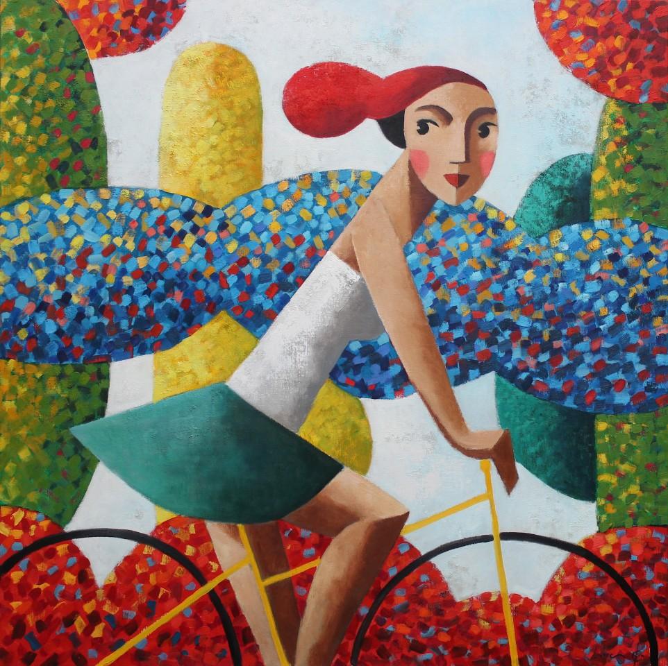 Didier Lourenço, Biker Blue, 2020