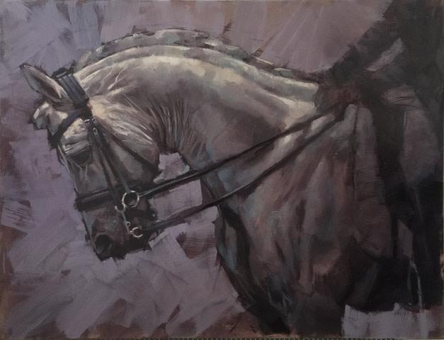 Jamel Akib, Horse No.II, 2019