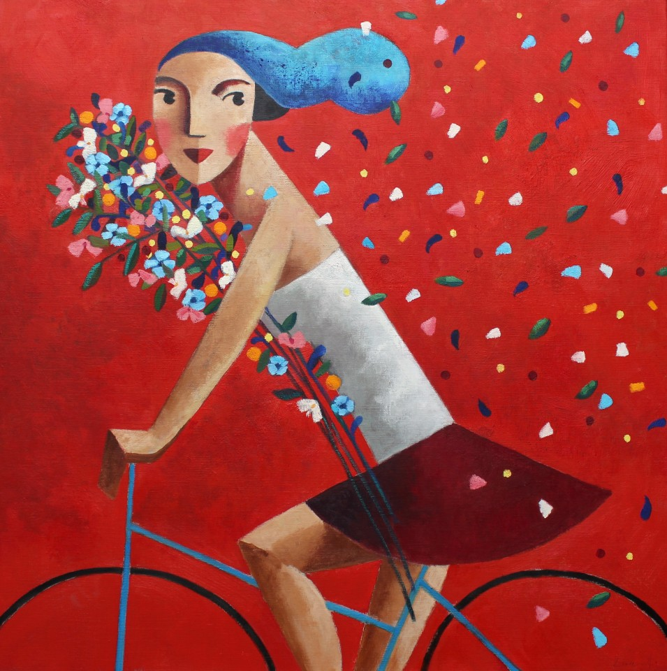 Didier Lourenço, I Don't Care (Red), 2019